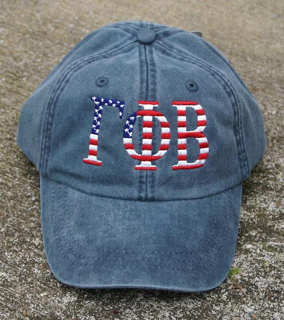Gamma Phi Beta American Flag Cap