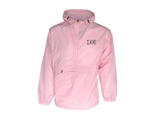 Sigma Theta Tau Unlined Anorak (Pink)