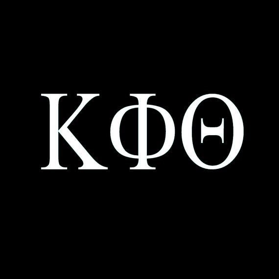 Kappa Phi Theta Window Decal