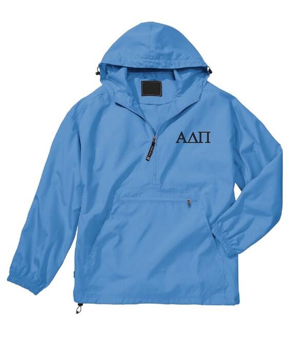 Alpha Delta Pi Unlined Anorak (Columbia Blue)