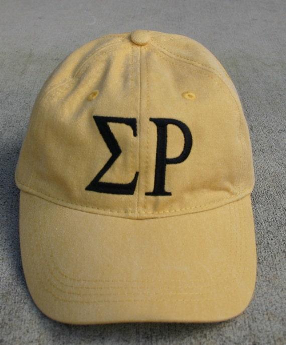 Sigma Rho baseball cap