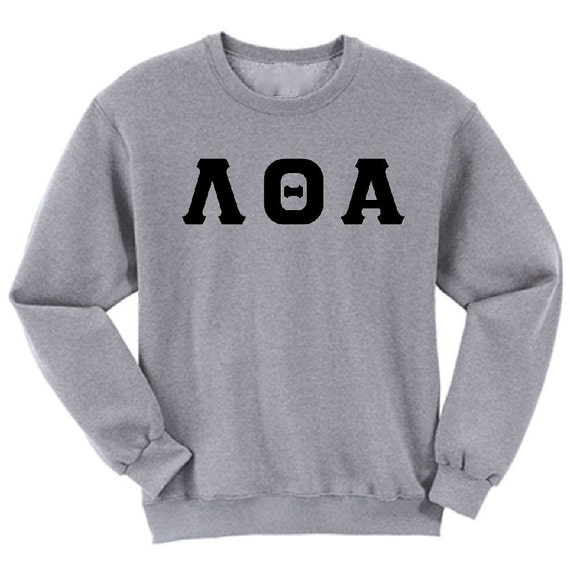 Lambda Theta Alpha - Athletic Grey Sweatshirt