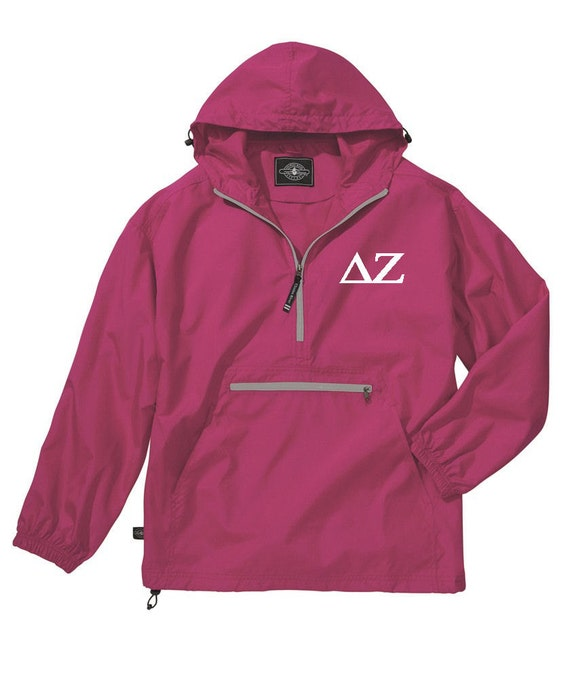 Delta Zeta Unlined Anorak (Hot Pink)