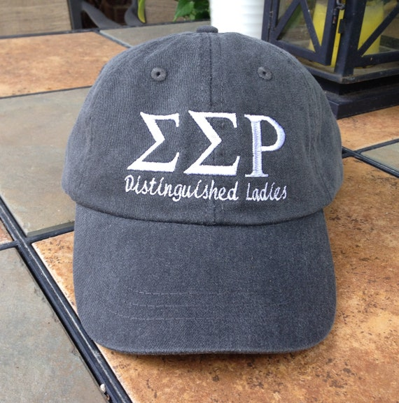 Sigma Sigma Rho (Distinguished Ladies) baseball cap