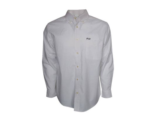 FIJI Button Down Dress Shirt