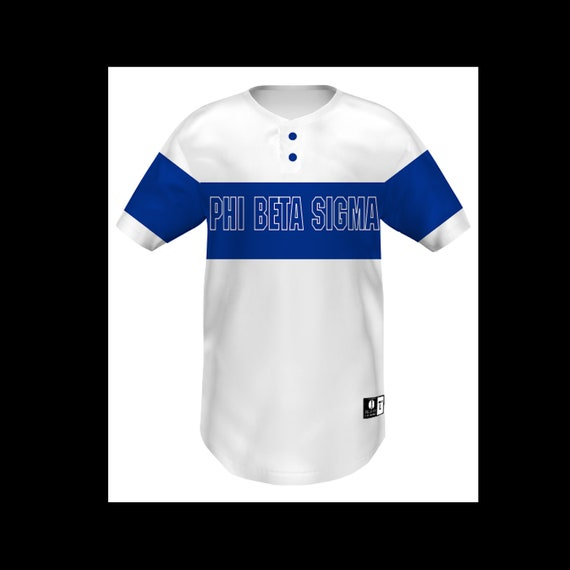 Phi Beta Sigma Sublimation Baseball Jersey