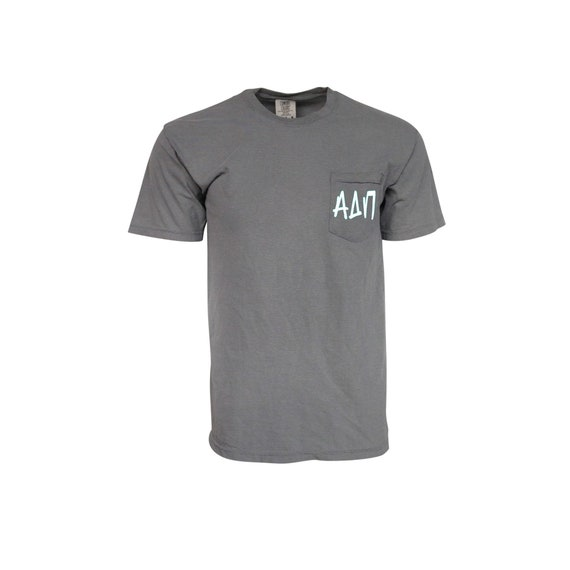 Alpha Delta Pi Comfort Color Pocket T-shirt