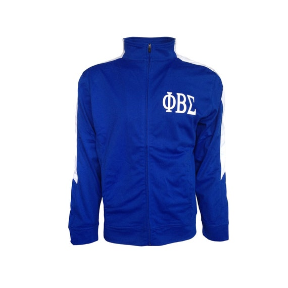Phi Beta Sigma Royal Blue and White Founders Jacket