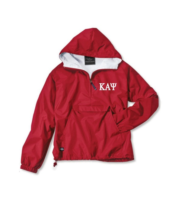 Kappa Alpha Psi Lined Anorak (Red)