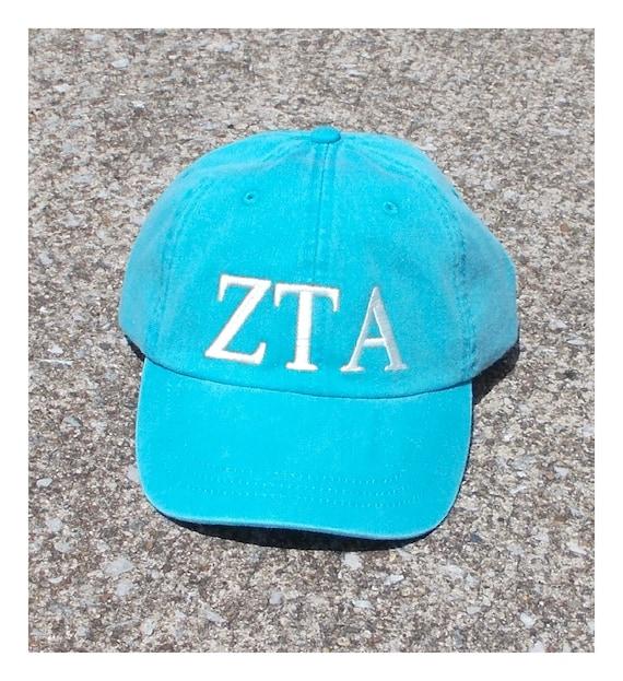 Zeta Tau Alpha baseball cap