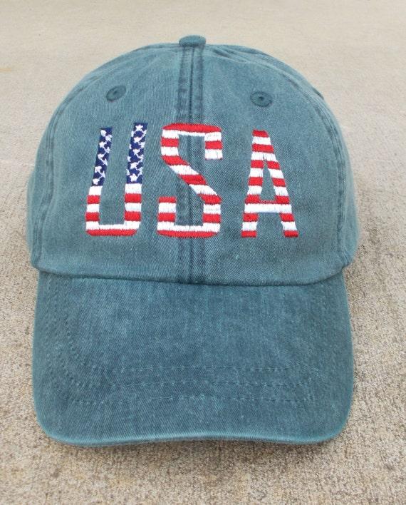 USA American Flag Cap