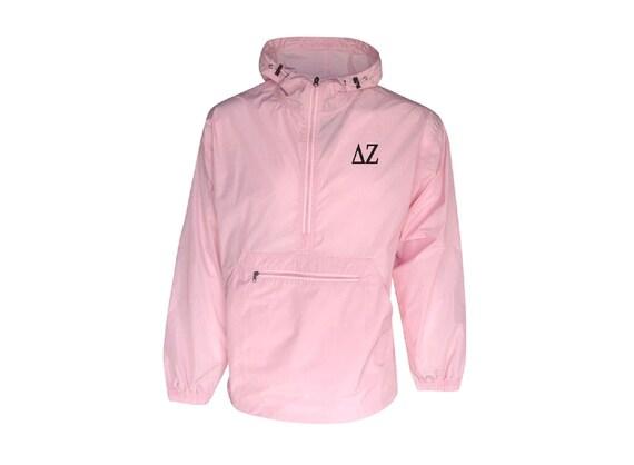 Delta Zeta Unlined Anorak (Pink)
