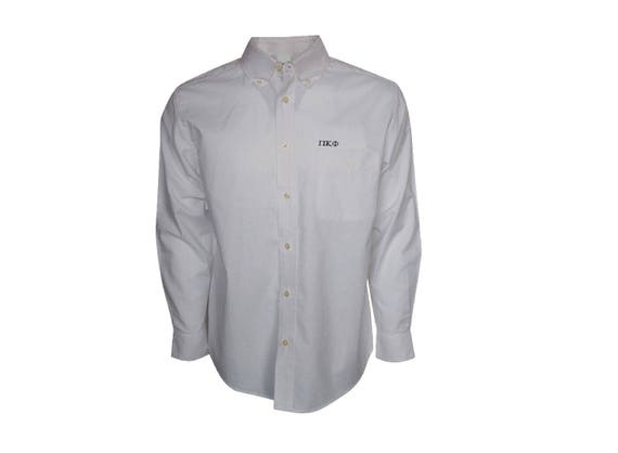 Pi Kappa Phi Button Down Dress Shirt