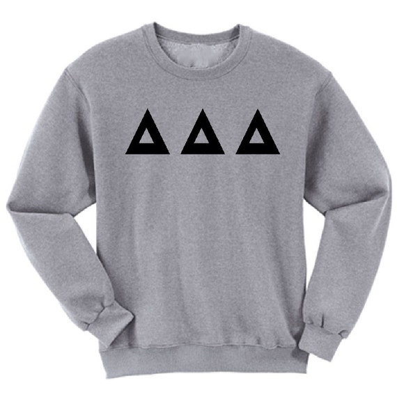 Delta Delta Delta - Athletic Grey Sweatshirt