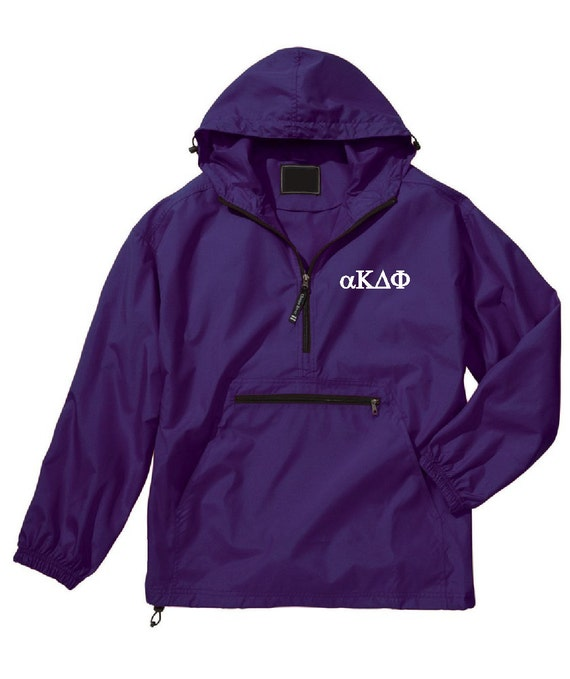 alpha Kappa Delta Phi Unlined Anorak (Purple)
