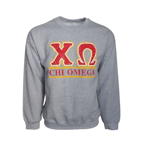 Chi Omega Bar Design Sweatshirt