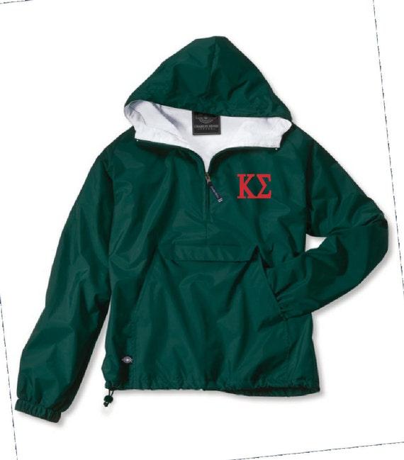 Kappa Sigma Lined Anorak (Green)
