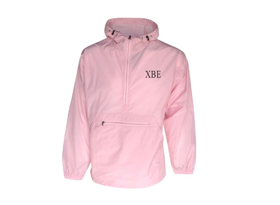 Chi Beta Epsilon Unlined Anorak (Pink)