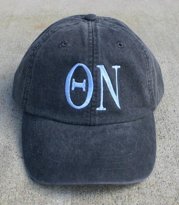 Theta Nu baseball cap