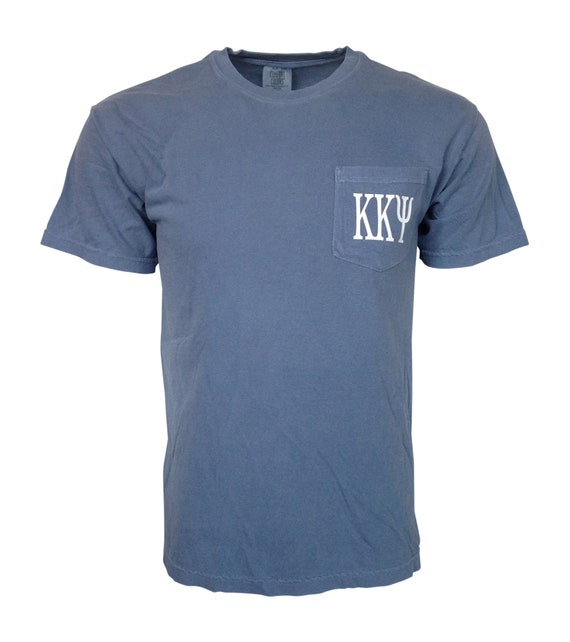 Kappa Kappa Psi Comfort Color Pocket T-shirt