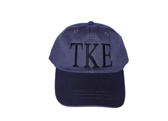 Tau Kappa Epsilon true color baseball cap (Charcoal)