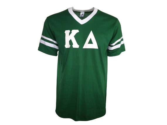 Kappa Delta - Stripe Sleeve T-shirt Jersey