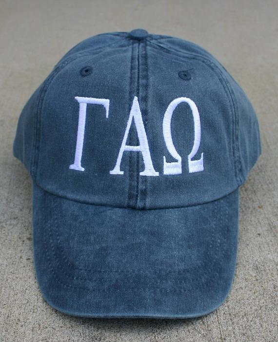 Gamma Alpha Omega baseball cap