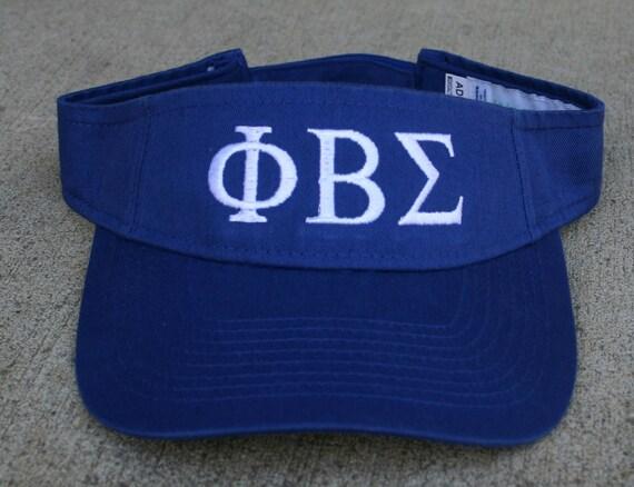 Phi Beta Sigma Visor