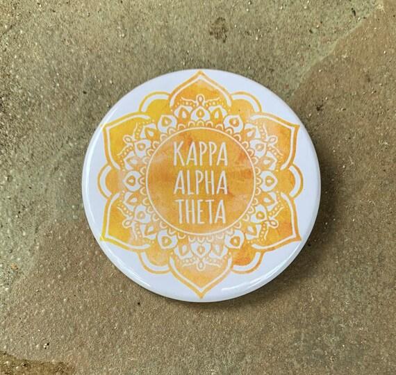 Kappa Alpha Theta Button