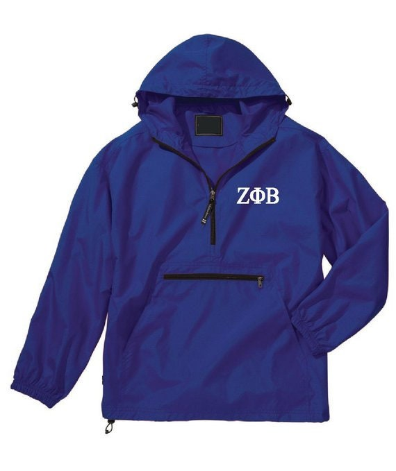 Custom Zeta Phi Beta anoraks