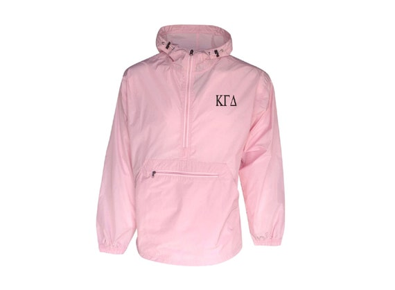 Kappa Gamma Delta Unlined Anorak (Pink)