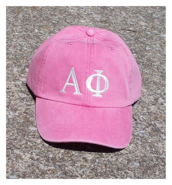 Alpha Phi baseball cap