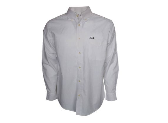 Alpha Sigma Phi Button Down Dress Shirt