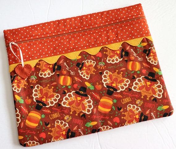 Gobble Cross Stitch Project Bag