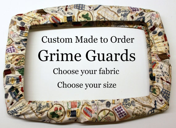 Custom - Choose Your Fabric Grime Guard Qsnap Cover