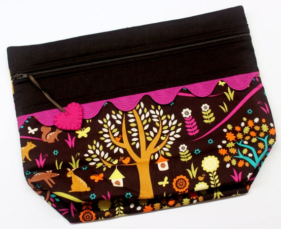 Lil' Big Bottom Enchanted Woods Cross Stitch Bag