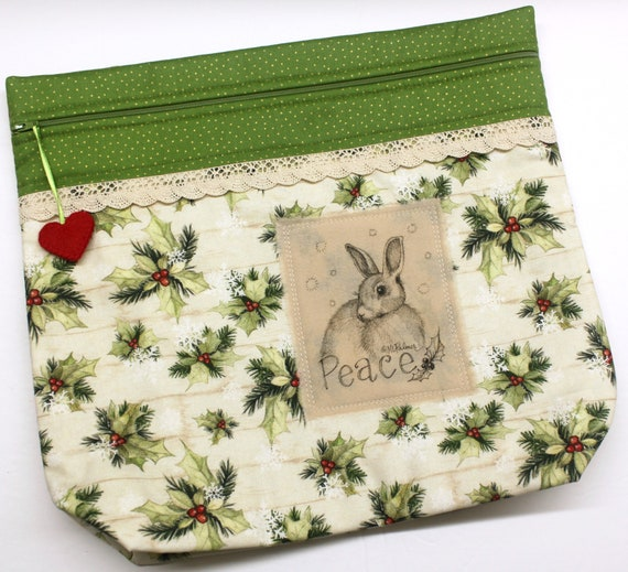 MORE2LUV Limited Edition Bunny #1 Project Bag