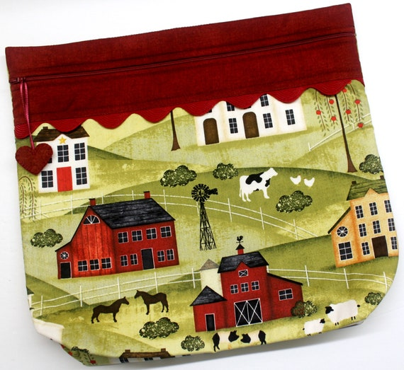 MORE2LUV Salt Box Farm Project Bag