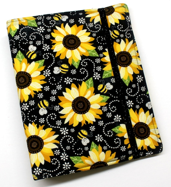 Sunflowers and Bees WIP Tracker Cover and Binder