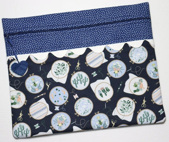 Hoop-la Cross Stitch Project Bag