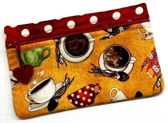 Side Kick Polka Dot Coffee
