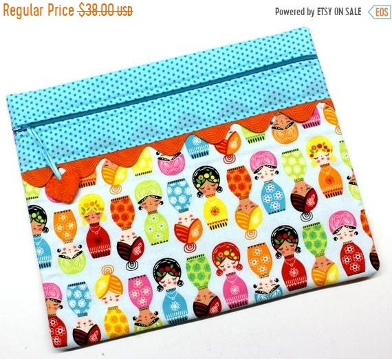 SALE Hello Dolly Cross Stitch Project Bag