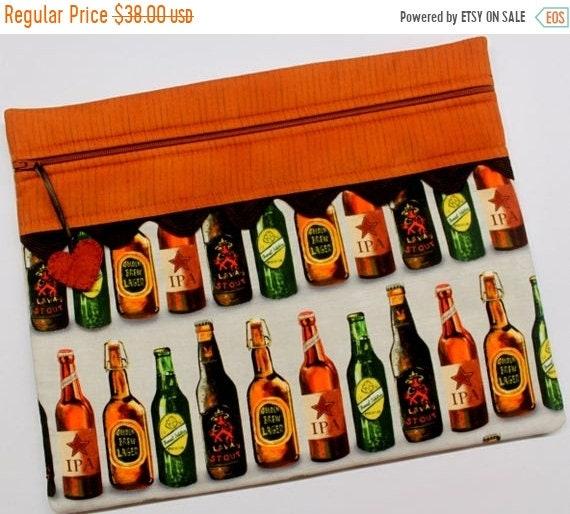 SALE 99 Bottles of Beer Cross Stitch Project Bag