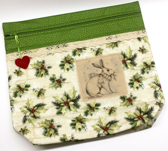 MORE2LUV Limited Edition Bunny #4 Project Bag