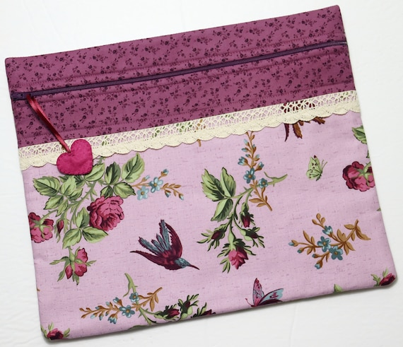 Anne's Garden Cross Stitch Project Bag