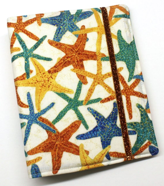 Metalic Gold Starfish WIP Tracker Cover and Binder