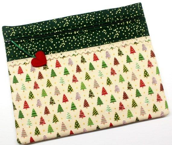 O'Christmas Tree Cross Stitch Project Bag