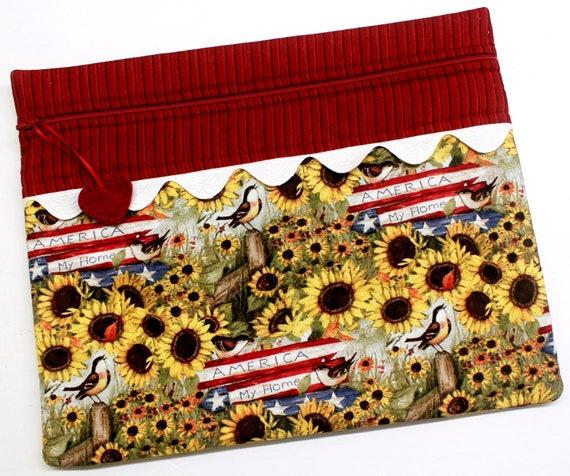 Farmstyle Americana Cross Stitch Project Bag