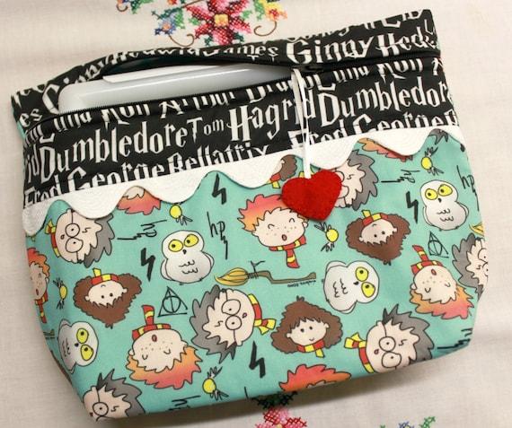 Lil' Big Bottom Candy Corn Cross Stitch Bag