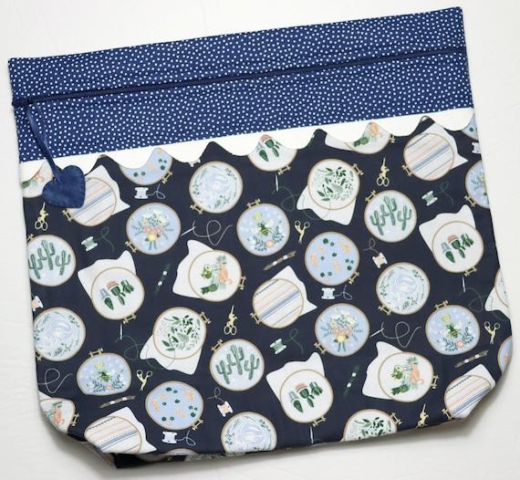 MORE2LUV Hoop-la Cross Stitch Project Bag